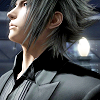 xnera: Icon of Noctis from Final Fantasy Versus 13, wearing a suit and looking upwards. (all dressed up, suit)