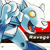 deceptivefeline: SG!Ravage waving with a paw. (SG!Ravage - Ravage.)