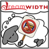 thedivinegoat: Dreamsheep holding an Anti-Spam Protest Sign (Dreamsheep - Antispam)