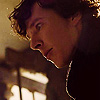 infinitelystranger: Sherlock looking delighted with something. (a clue!!)