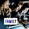 "apollymi: Newt, Hicks, & Ripley checking blueprints, text reads ""Family"" (Aliens**Hicks/Ripley+Newt: Family 2)"