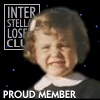 darkemeralds: Baby picture of DarkEm with title 'Interstellar Losers Club' and caption 'Proud Member' (Proud Member)