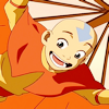 stheno: Aang happily flying with his glider ([A:tLA] happy flying Aang)