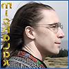 mishalak: Mishalak with long hair in a alpine landscape. (Tundra)