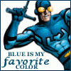 madripoor_rose: Blue Beetle 'blue is my favorite color' (Ted)