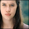 metonymy: Susan from the Chronicles of Narnia, squinting. (susan: squinting)