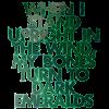 darkemeralds: text: When I stand upright in the wind, my bones turn to dark emeralds (My bones turn to dark emeralds)