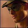 drew: (arrow mask)