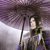 bellflower: Mitsuhide from SW3, in the rain (is he an ancestor or what?)