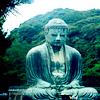 ext_805: serene buddha in blue (Default)
