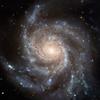moonlit: Spiral galaxy, M101 (System - M101)