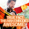 bloodybrilliant: picture of Misha Collins hanging is snazzy underpants to dry/display (Misha is AWESOME)