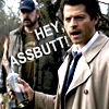 bloodybrilliant: (Learning Human Insults: It's hard, Cas will insult you harshly, ASSBUTT!)