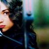 sapote: Allison from Teen Wolf aiming a bow at the camera (Allison: Teen Wolf)