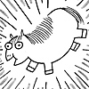 dorinda: Fat Pony appears in a blaze of light! (Fat_Pony)