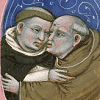 taabe: Two monks embracing (Monks)