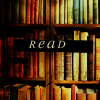 "bedlamsbard: miscellaneous: read (bookshelf with text ""read"") (read (girlyb_icons))"