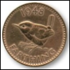 farthing: Farthing coin, 1948 (Default)