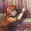 sqbr: Dagna from Dragon Age reaching for a book (dagna)
