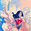 cloud_wolf: wondy with a heroically billowing cloak (heroic wondy)