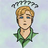 smurasaki: blond person looking up with question marks over head (why)