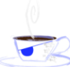 onyxlynx: Badly-drawn teacup with steam and eyepatch (Pirate Teacup)