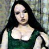 greensleeves: (corset, brooding, goth, cleavage, artistic)