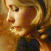 quinara: Buffy's sad-looking profile from Villains. (Buffy profile)