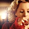 quinara: Anya drinking whiskey. (Anya whiskey)