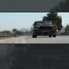 quinara: Spike's car driving down the road. (Spike car)