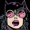 ext_416699: Catwoman spoting something through her binoculars (Default)
