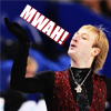 sekaigo: ([Skating] Plushenko, mwah!)