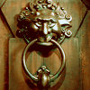 scaramouche: Door knocker from Labyrinth (labyrinth knocker)
