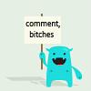 elianahsharon: (Comment bitches)