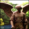 ghost_lingering: The statue of Bethesda in Central Park (belief with wings and arms to carry you)