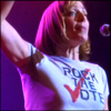 ghost_lingering: CJ Cregg wants your vote. (rock the vote)