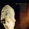 aella_irene: A marble bust of Athena (learning, athena)