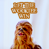 colls: (SW Let the Wookie Win)
