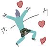deathboss: (Motion - Eikichi flies off to love again)