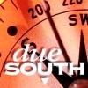 "duesouth: The due South logo: the text ""due South"" over a compass pointing south-southwest. (logo)"