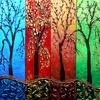 teaching: Four colour trees (four trees)