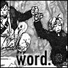 kaigou: Ed & Ling bumpfist. (2 word)