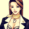dcupsofjustice: Mia Fey, smiling at the viewer. ([o] d cups full of justice)