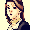 dcupsofjustice: Mia Fey, looking a bit unsure at the viewer, lips pursed. ([o] what am i going to do with you)