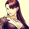 dcupsofjustice: Young Mia Fey, smiling at the viewer. ([y] come up and see me some time) (Default)