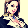 dcupsofjustice: Mia Fey, smiling, looking at the viewr. ([o] the tits of your enemy)