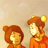 damkianna: A cap of Jinora and Ikki from The Legend of Korra. (Wheeee!)