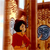 damkianna: A cap of Jinora from The Legend of Korra, through the spinning gates. (Jinora will demonstrate.)