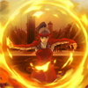 damkianna: A cap of Korra from The Legend of Korra, Firebending. (And a Firebender.)