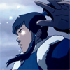 damkianna: A cap of Korra from The Legend of Korra, in the Avatar state. (Don't try to stop me.)